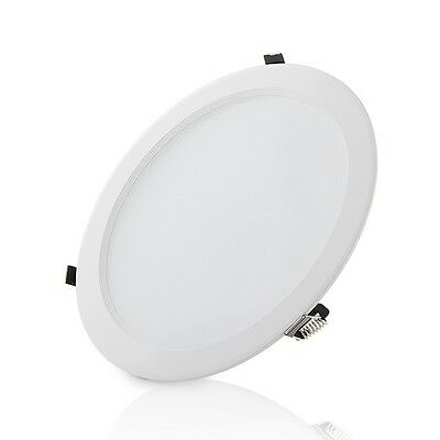 Downlight LED 24W Blanco Luz Neutra, Agujero de corte 184mm.