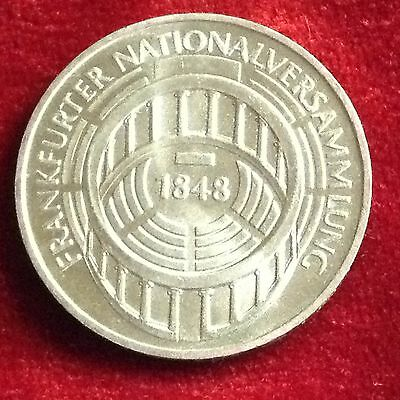 1973 G  Germany 5 Mark Silver Coin