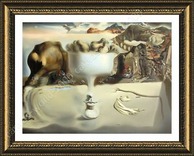 Apparition Of Face Fruit Dish by Salvador Dali   Framed canvas   Wall art HD