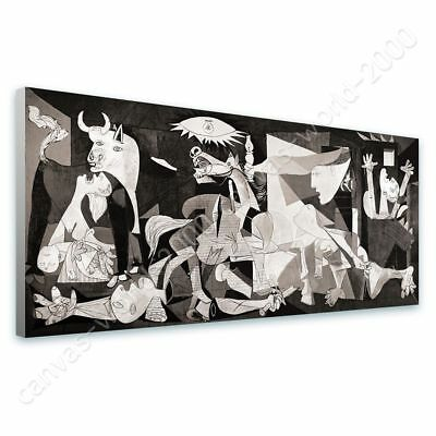 Guernica by Pablo Picasso | Ready to hang canvas | Wall art oil painting print