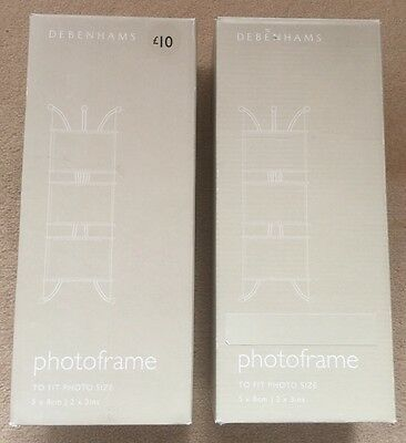 DEBENHAMS THREE Tier Photo Frames *Brand New* - £10.99 | PicClick UK
