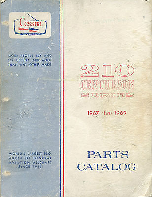 Cessna 210 Centurion Series 1967 Thru 1969 Parts Catalog