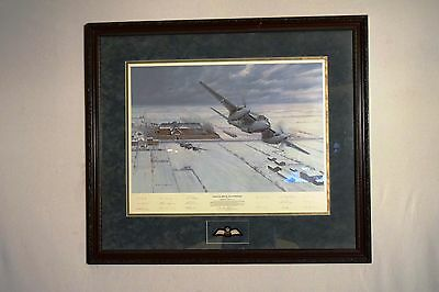 Gerald Coulson Operation Jericho - The Jailbreakers Artist & Veteran Signed