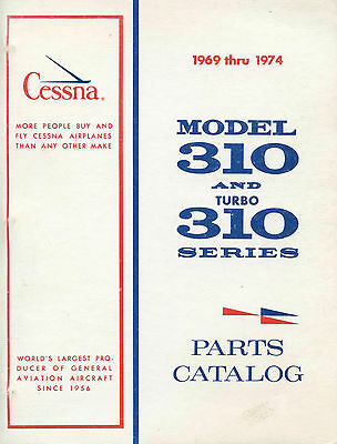 Cessna Model 310 And Turbo 310 Series Parts Catalog