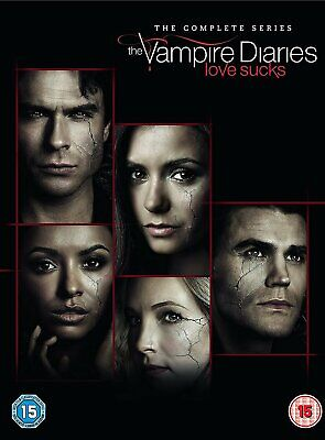 The Vampire Diaries Complete Series Collection 1-7 DVD Box Set Season UK Release