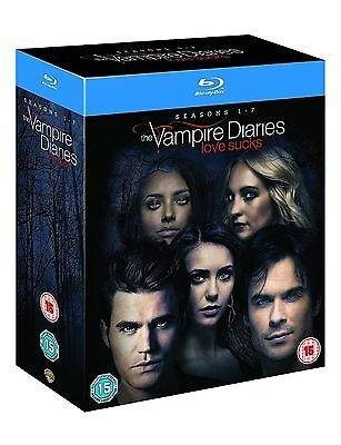 The Vampire Diaries Complete Series Collection 1-7 Blu Ray Box Set Season UK Rel