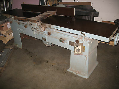 """Oliver 16"""" Heavy Duty Jointer 166-CD 5HP"""