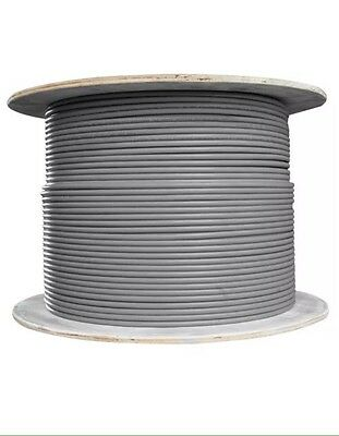 6491X 2.5mm Grey Single Cable - 100m on drum.