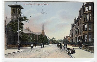 BROOK STREET, BROUGHTY FERRY: Angus postcard (C24979)