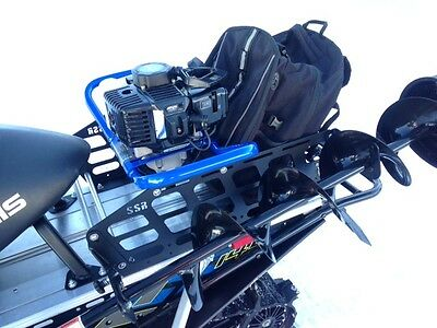 "Sportsman Snowmobile Rack SSR140 With 8"" Ice Auger Holder"