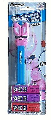 Pez Dispenser Energizer Bunny NEW LIMITED EDITION!