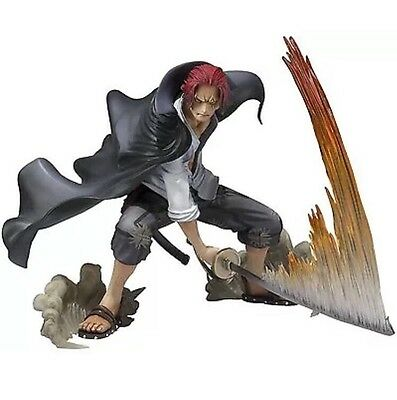 Bandai Figuarts ZERO One Piece Shanks Battle Ver PVC Figure from Japan