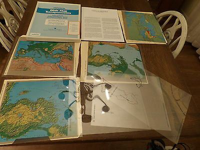Bible Map Transparencies Lands of the Bible study for overhead projector