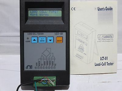 Load Cell Tester, LCT-01, OMEGA