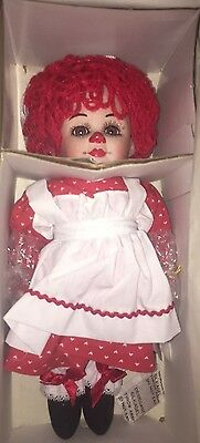 """Marie Osmond Twins """"Rosie""""  11"""" Porcelain Doll!  New In Box!"""
