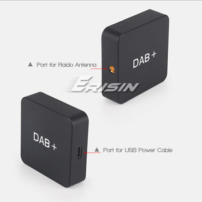 DAB+ Digital Radio Box with Amplified Antenna for Android 6.0/7.1/8.0 Unit 354