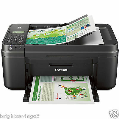 Canon WIRELESS PRINTER Copier Scanner Fax Machine Office Color Printing PIXMA