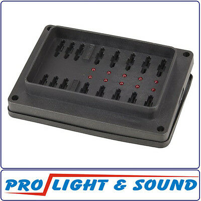Weatherproof Fuse Block with LED Indicators