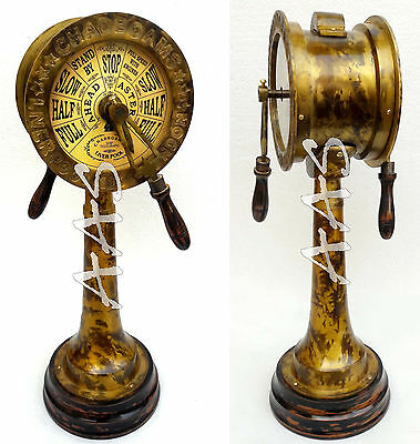 Marine Antique Telegraph Vintage Maritime Collectible CHADBOAMS Ship Engine Room
