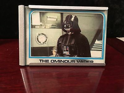 Star Wars The Empire Strikes Back Card 186 1980 The Ominous Vader