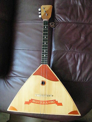 Vintage 1980 Russian Balalaika Made in Leningrad Olympic Games limited edition