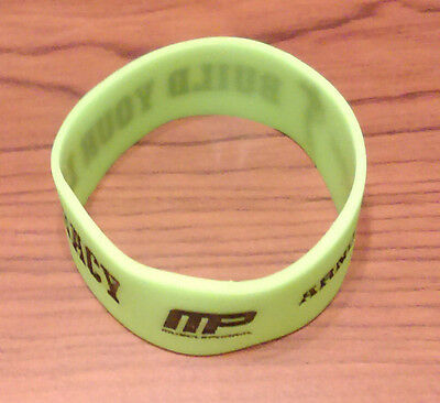 MusclePharm Arnold Series Wristband Silicone Bracelet 2016 Arnold Classic New!!!