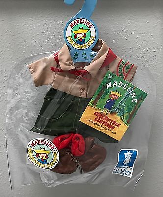 """Vintage Madeline Collectible Clothing Designed To Fit 15"""" Doll Paris Girl Scout"""