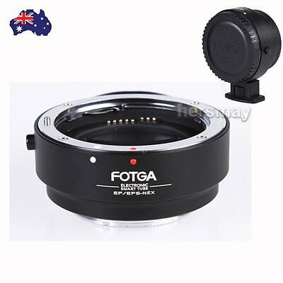 AU Auto Focus Electronic For Canon EF EF-S Lens to Sony E NEX 3/5 A7 A7R Adapter