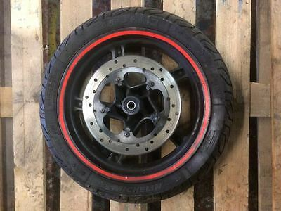 Gilera DNA 125 - Front Wheel, Tyre and Disc - BREAKING FOR SPARES/ PARTS