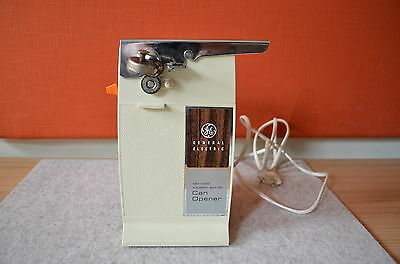 VINTAGE CAN OPENER General Electric Dosenöffner Cream Made in USA