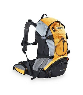 AspenSport Trekking-Rucksack | MILWAUKEE 40 Liter | Orange - 50 x 38 x 23 cm