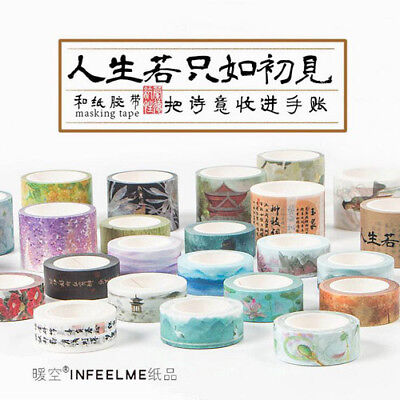 0.5cm*7M Arrow Time Plan Function Decorative Washi Tape Scotch DIY Masking Tape