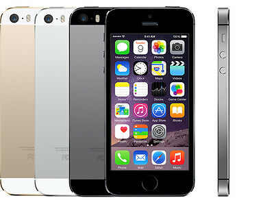 Apple iPhone 5s - 16GB 32GB 64gb- Unlocked Smartphone Various GRADED