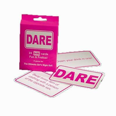 Girls Ladies 24 Dare Cards Giddy Ann Summers Fun Night Out Hen Do Ultimate Party