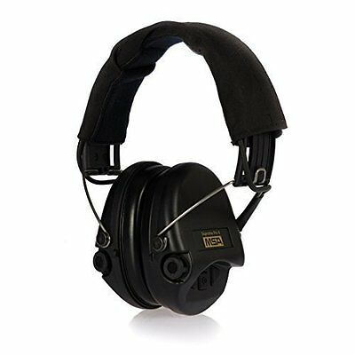 MSA Sordin Supreme Pro X - Premium Edition - Electronic Earmuff with black