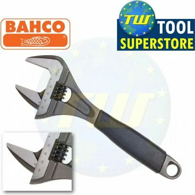 """Bahco 10"""" Adjustable Spanner 250mm Wrench - EXTRA WIDE 46mm Jaw ERGO Hand 9033"""