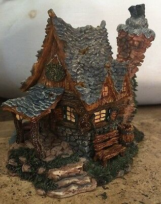 BOYDS BEARLY BUILT VILLAGE ~ Edmund's Hideaway w/ Box & Packing