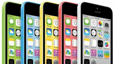 Apple iPhone 5c - 8GB 16GB 32gb- LCD / Unlocked/Lock Smartphone Various Colours