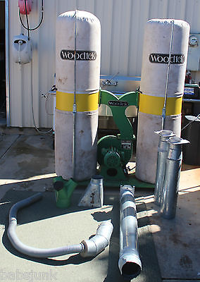 WOODTEK®  3HP Dust Collector with manual