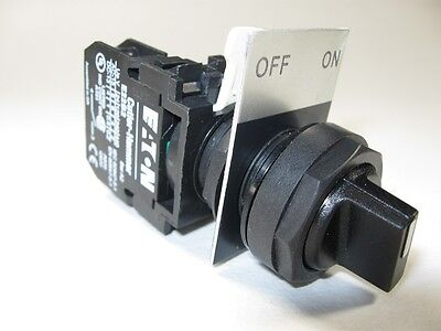 Heavy duty on/off rotary switch Eaton Cutler-Hammer complete AC/DC E22XB51  NEW!
