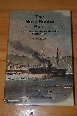 Weeda The Nova Scotia Post: Its Offices, Masters and Marks 1700-1867, MacDonald