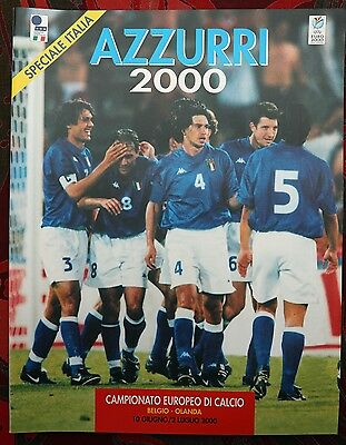 Italy Official Team Brochure Euro 2000