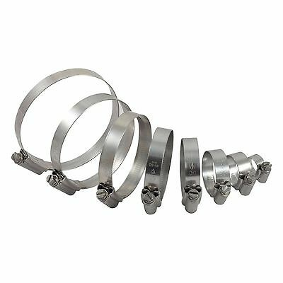 Stainless Steel Pipe Clamps/Hose Clips, Jubilee Type, all sizes.