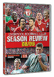 Liverpool FC End Of Season Review 2008/2009 DVD UK Release Brand New Sealed R2