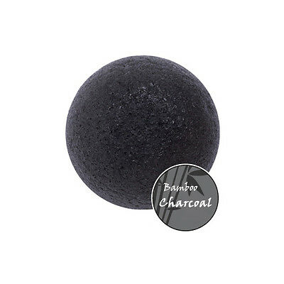 Missha Natural Konjac Soft Jelly Cleansing Puff (Bamboo Charcoal) UK SELLER