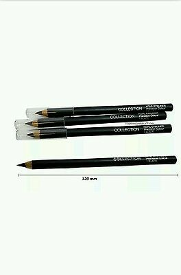 COLLECTION BLACK SOFT KOHL EYELINER PENCIL TOP QUALITY 1pc