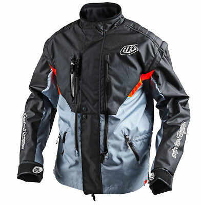 Troy Lee Designs NEW Mx Radius Grey Orange Adventure Off Road Motorcycle Jacket