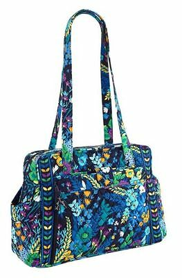 Vera Bradley Make a Change Baby Bag Diaper with Changing Pad in Midnight Blues