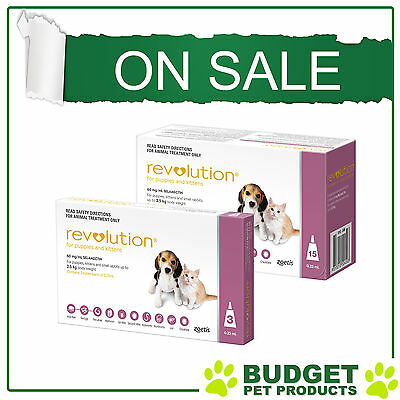 Revolution For Puppies & Kittens - All Sizes