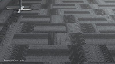 GODFREY HIRST NYLON Carpet Tile + Fire Rated, Quality Durable Flooring Material - $26.00 | PicClick AU